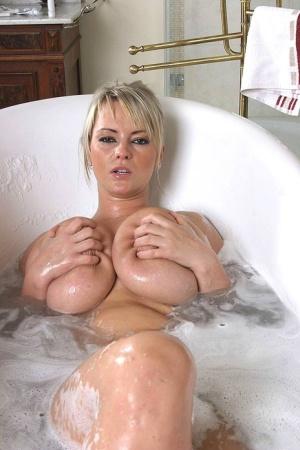 Huge Tits Bath