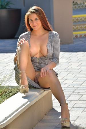 Huge Tits Upskirt