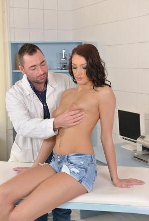 Huge Tits Gyno Exam