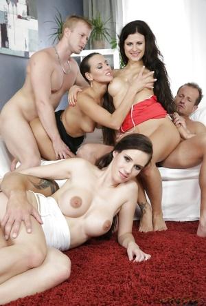 Huge Tits Orgy