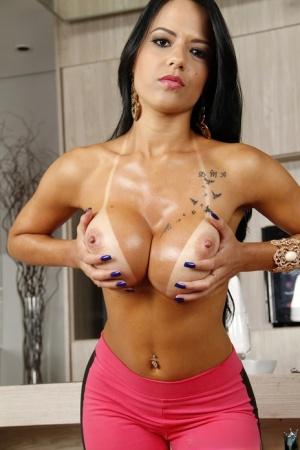 Huge Brazilian Tits