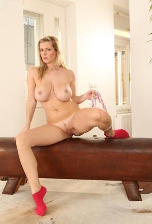 Huge Tits In Socks