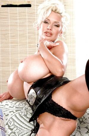 Huge Latex Tits