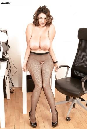 Huge Tits In Pantyhose