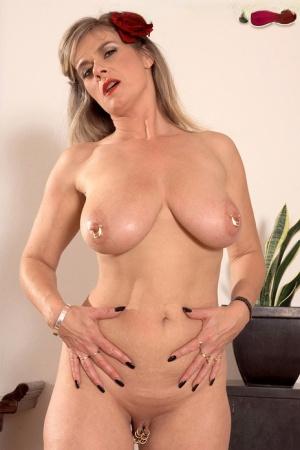 Huge Pierced Tits
