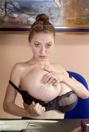 Huge Tit Secretary