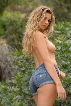 Huge Tits Tight Shorts