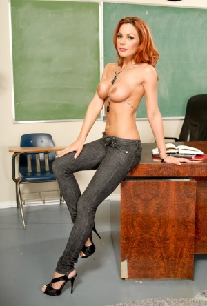 Huge Tits Teacher