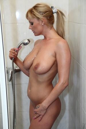 Huge Tits In Shower