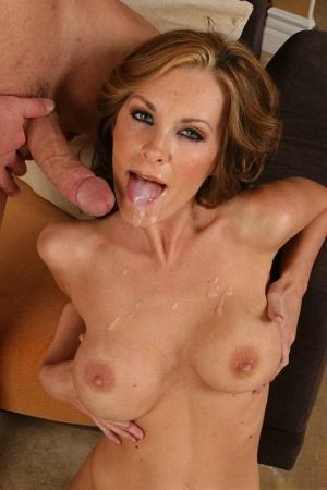Huge Tits Cum In Mouth